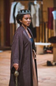 Chipo Chung in Dido, Queen of Carthage rehearsal. Photo: Topher McGrillis