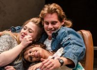 The cast of Rita, Sue and Bob Too at Octagon Theatre, Bolton. Photo: Richard Davenport