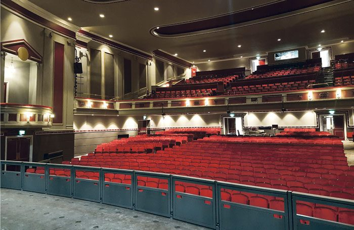 The capacity of Hull New Theatre's refurbished auditorium has increased to more than 1,300