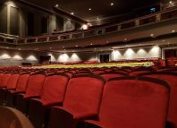 The auditorium has been remapped to fit an extra 150 seats.