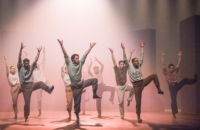 Hofesh Shechter: Grand Finale at Sadler's Wells, London. Photo: Tristram Kenton
