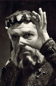 Paul Scofield as King Lear in 1962. Photo: Angus McBean