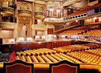 Theatre Royal, Drury Lane auditorium from the royal box. Photo: Peter Dazeley