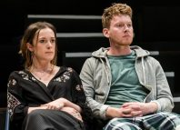 Eleanor Henderson and Joe McArdle in Gate at Cockpit Theatre, London