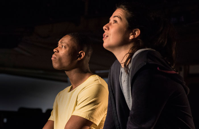 Patrick Elue and Norah Lopez Holden in Our Town. Photo: Stephen King