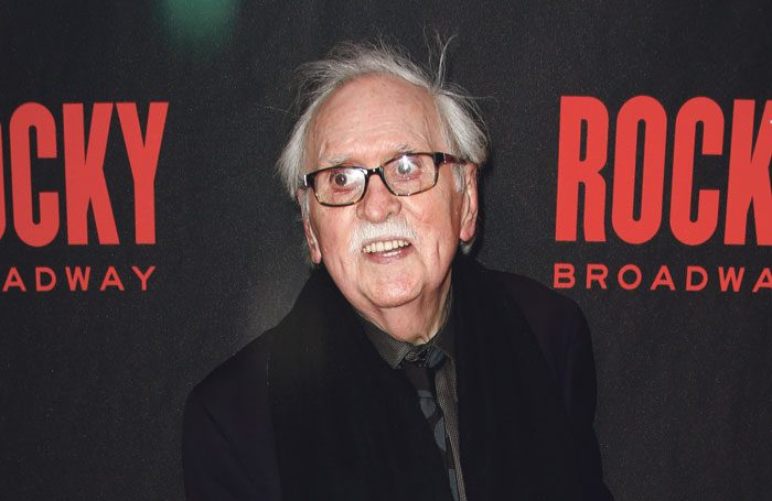 Thomas Meehan at the Broadway opening night of Rocky in 2014. Photo: Shutterstock
