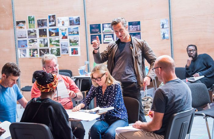 Rehearsals for The Seagull at the Lyric Hammersmith. Photo: Tristram Kenton