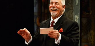 Barrie Rutter in For Love or Money at the Viaduct Theatre, Halifax. Photo: Nobby Clark