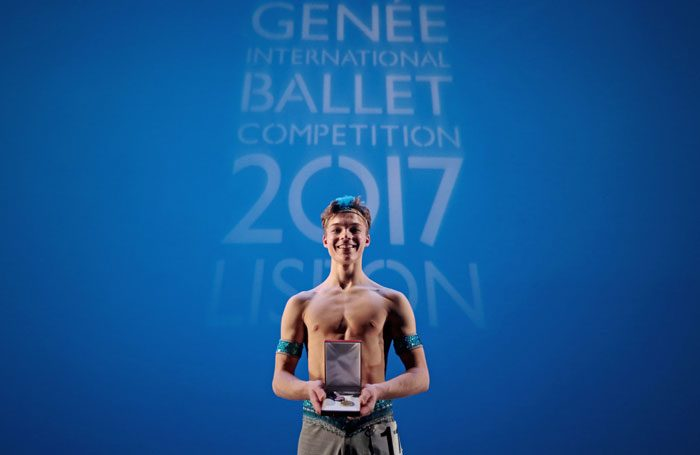 Harris Beattie, 18, won the gold medal, the Margot Fonteyn Audience Choice Award and the choreography award at the Genee International Ballet Competition. Photo: Bruno Simao