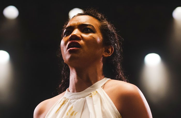 Chipo Chung in Dido, Queen of Carthage at the Swan Theatre. Photo: Topher McGrillis