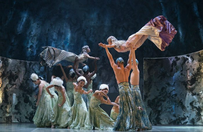 The Northern Ballet of The Little Mermaid at Mayflower Theatre, Southampton. Photo: Emma Kauldhar