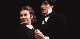 Emily Richard and Roger Rees and the cast of The Life and Adventures of Nicholas Nickleby in 1980. Photo: Reg Wilson