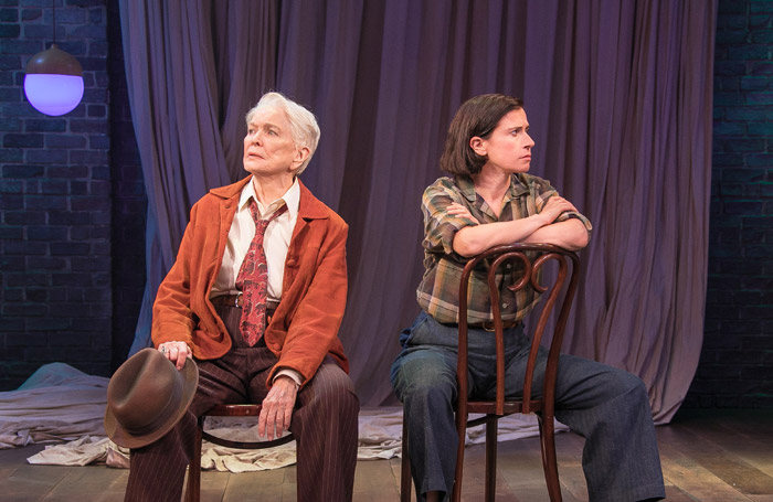 Ellen Burstyn and Hannah in As You Like It in Classic Stage Company, New York. Photo: Lenny Stucker