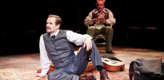 Oliver Dimsdale and Jamie Ballard in Uncle Vanya. Photo: The Other Richard