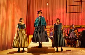 Hannah Bristow, Evelyn Miller and Lynda Rooke in Jane Eyre. Photo: Brinkhoff/Moegenburg