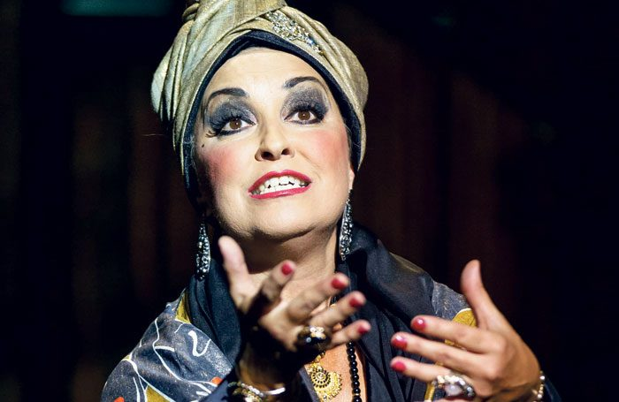 Ria Jones playing Norma Desmond in Sunset Boulevard. Photo: Manuel Harlan