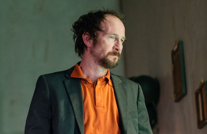 Paul Kaye in B at the Royal Court, London. Photo: Helen Murray