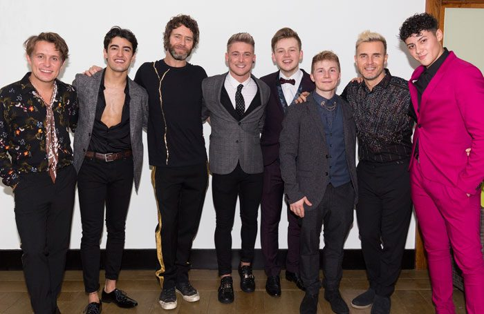 Take That with Five To Five at The Band press night. Photo: Phil Treagus