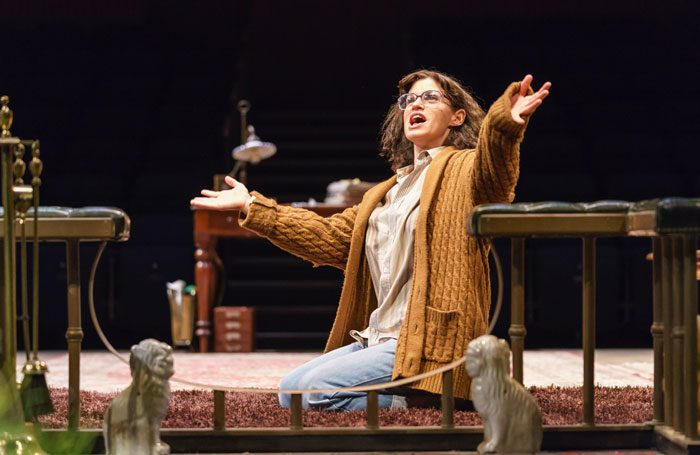 Jemima Rooper in The Norman Conquests at Chichester Festival Theatre. Photo: Manuel Harlan