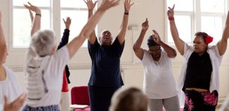 Yorkshire Dance's Dancing in Time project. Photo: Sara Theresa