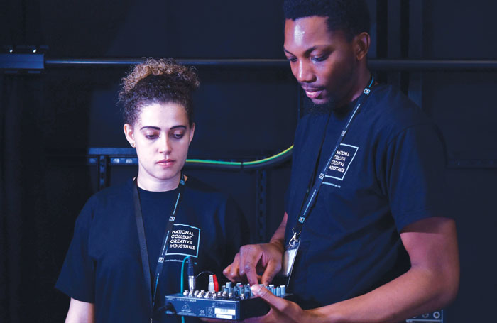 The National College of Creative Industries offers students a wide range of technical production apprenticeships. Photo: James Fletcher Photography