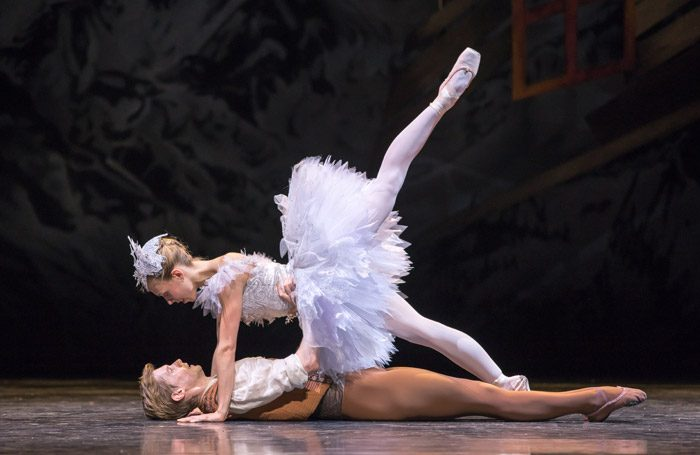 Andrew Peasgood and Constance Devernay in Scottish Ballet's The Fairy's Kiss