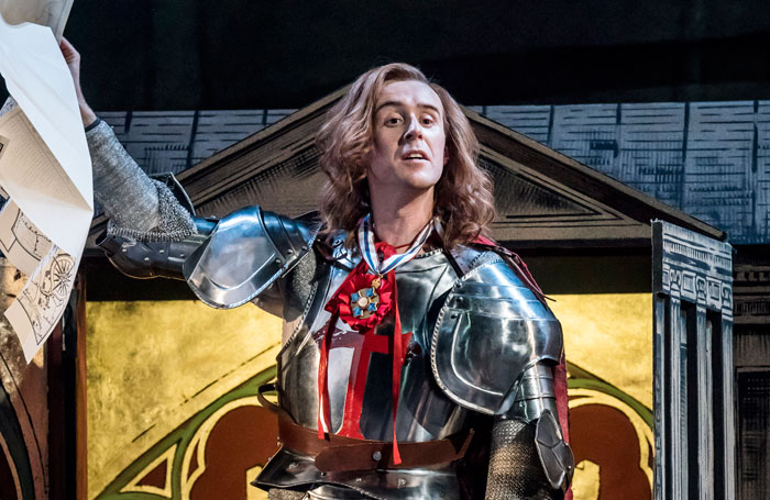 John Heffernan in Saint George and the Dragon. Photo: Johan Persson