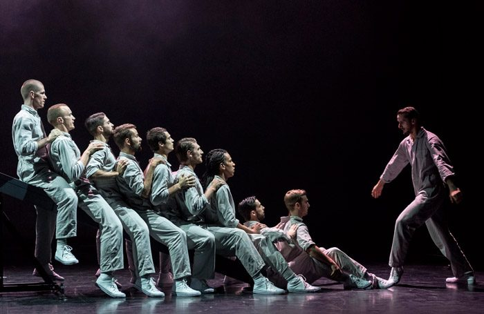Javier Frutos' The Title is in the Text, part of Fourteen Days at Sadler's Wells