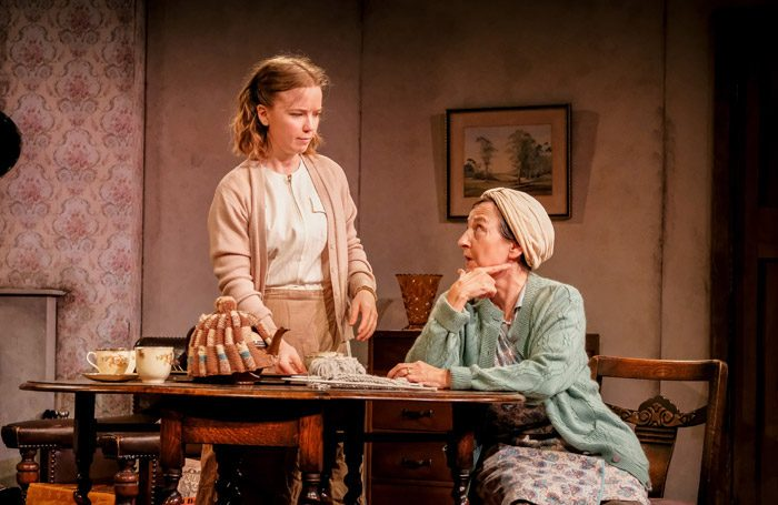Rosie Abraham and Angela Bain in Dirty Laundry. Photo: Andrew Billington