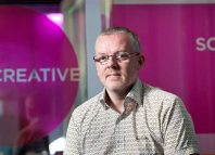 Creative Scotland acting chief executive Iain Munro. Photo: Drew Farrell