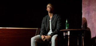 Mohammed Mansaray in Othello at Ambassadors Theatre, London. Photo: Helen Murray