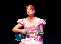 Penny Ashton in Promise and Promiscuity at Greenwich Theatre, London