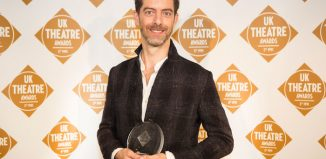 Jon Bausor won best design UK Theatre Awards in London, where he won best design for The Grinning Man at Bristol's Old Vic. Photo: Pamela Raith