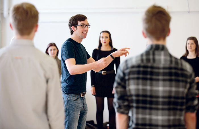 Students at Arts Educational Schools London, which topped drama school satisfaction tables this year. Photo: Tom Duke