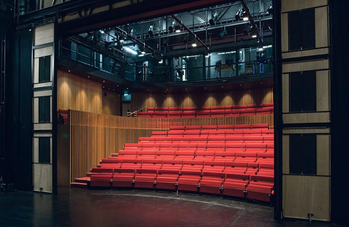 LAMDA's 200-seat Sainsbury Theatre is part of the school's redevelopment plan. Photo: Richard Hubert Smith