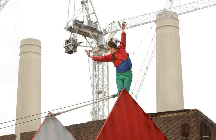 Satchie Noro in Origami at Battersea Power Station. Photo: Johnny Stephens