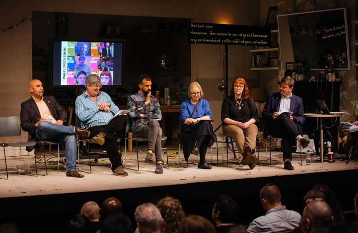 Act for Change and The Stage hosted a conference exploring diversity in criticism. Photo: Helen Murray