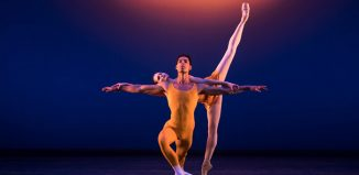 Tyrone Singleton and Jenna Roberts in Concerto at the Royal Opera House, London. Photo: Andy Ross