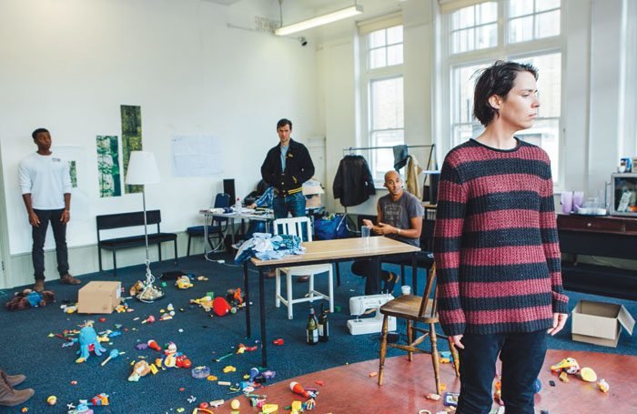 Rehearsals for Suzy Storck. Photo: Helen Murray