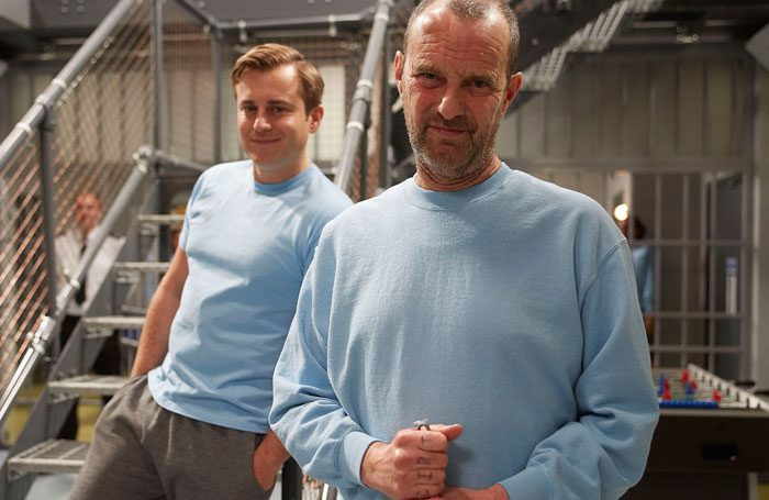 Kevin Bishop and Phil Cornwell in Porridge. Photo: BBC Studios