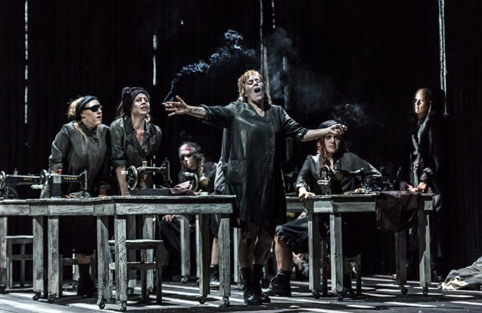 Anne Sophie Duprels in Risurrezione at Wexford Opera House. Photo: Clive Barda