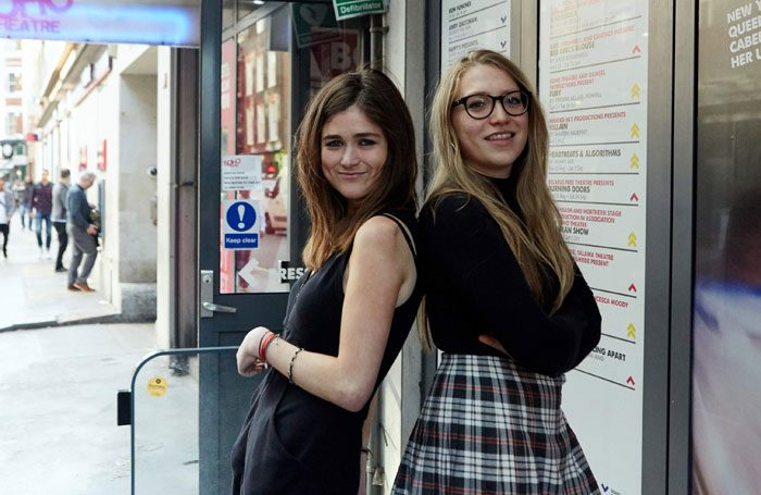 Director Hannah Hauer-King and producer Kitty Wordsworth, the co-founders of Damsel Productions. Photo: the Other Richard