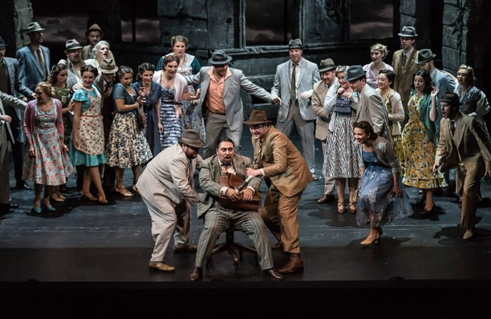 The cast of Margherita at Wexford Opera House. Photo: Clive Barda