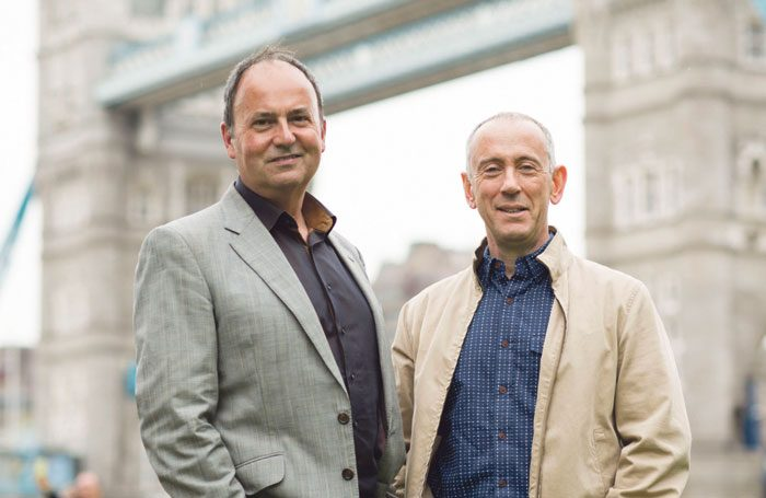 Nick Starr and Nicholas Hytner. Photo: Helen Maybanks
