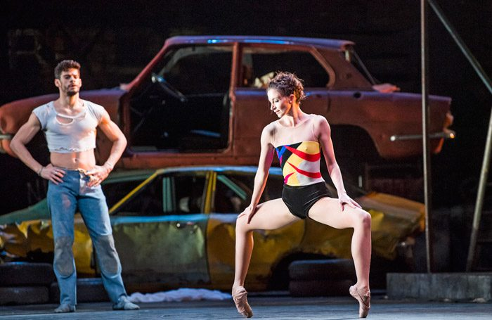 Thiago Shares and Lauren Cuthbertson in The Judas Tree at Royal Opera House, London. Photo: Tristram Kenton