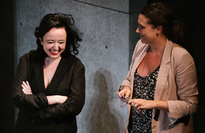 Lily Houghton and MCC artistic producer Jessica Chase. Photo: Da Ping Luo