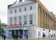 The Old Vic theatre in London relies on its principal partnership with the bank for its existence