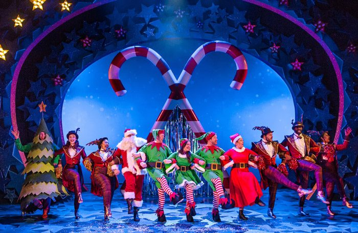 The cast of Nativity! The Musical at Birmingham Repertory Theatre. Photo: Richard Davenport