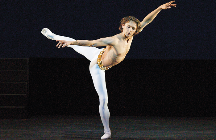 Ivan Putrov in Dance of the Blessed Spirits from Men in Motion at Sadler's Wells in 2012. Photo: Elliott Franks