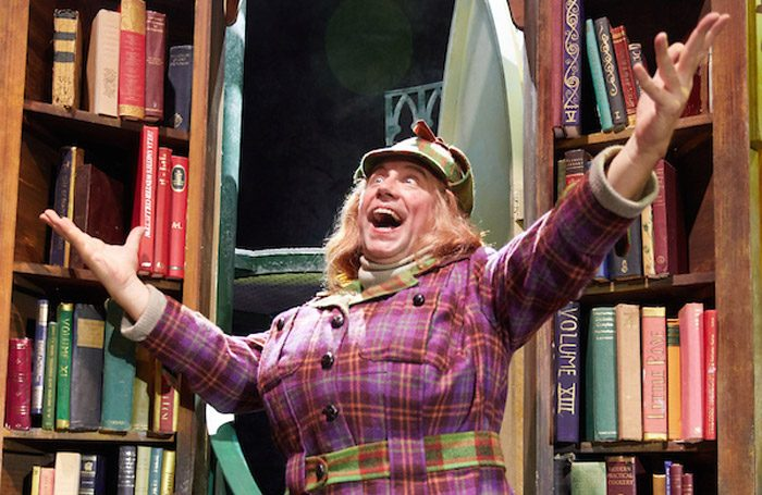 Timothy Speyer in Awful Auntie at Richmond Theatre, London